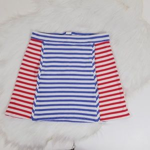 Kate Spade Cotton Stretch Stretch Mini Skirt